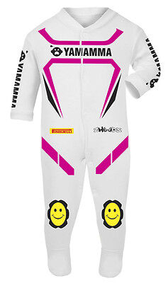 Yamamma Baby Biker Race Sleep Suits