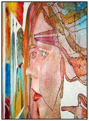 Botín Casa Original Pintura Al Óleo sobre Tabla Alivio Escultura Firmado Moderno 4