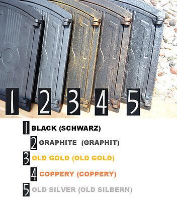 44,5x24,5 Cast iron doors AIR RETURN GRILLES Traditional Vintage Victorian DZ055 2