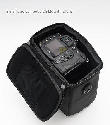 Camera Bag Padded Insert Carry Case Partition For DSLR SLR Canon Nikon Sony Lens 6