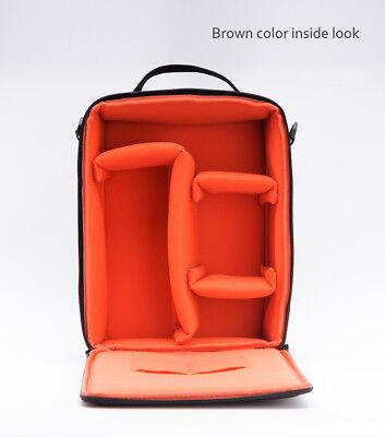 Camera Bag Padded Insert Carry Case Partition For DSLR SLR Canon Nikon Sony Lens 11