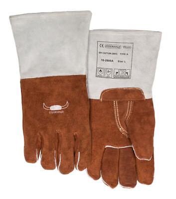 WELDAS Gloves for High Heat Welding, Wool & COMFOflex Wide Body Model Size: L XL