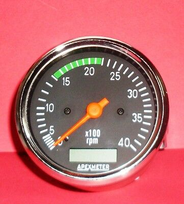 Apexmeter tachometer rpm meter hour meter alternator for trucks 1 of 4 apexmeter tachometer rpm meter hour meter alternator for trucks genset 80mm24v publicscrutiny Image collections