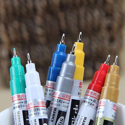 Thin Waterproof Permanent Oil Paint Marker Pen Car Tyre Tire Tread Rubber Metal 2