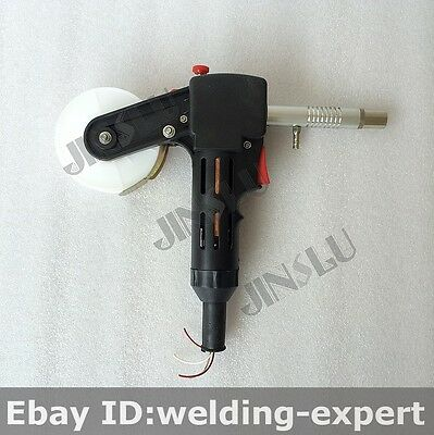 DC 24V Toothed MIG Spool Gun Wire Feed Aluminum Welder Torch Everlast Mig
