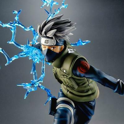 Naruto Kakashi Sasuke Action Figure PVC 22cm Fmrxk Anime Puppets Toys Model Gift