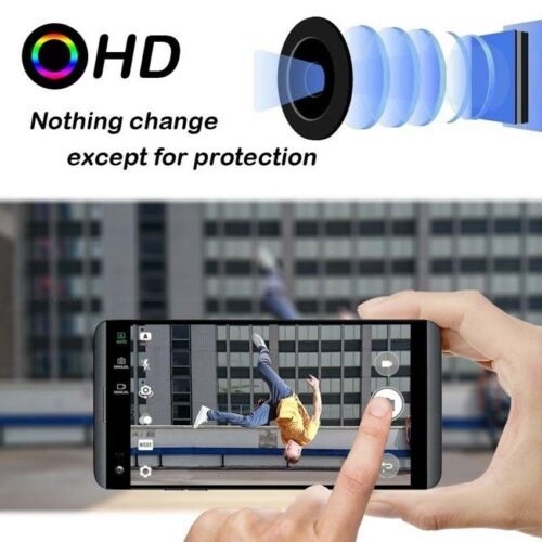 3PC Ultrathin HD Tempered Glass Rear Camera Lens Protector Film Guard For LG V30 11
