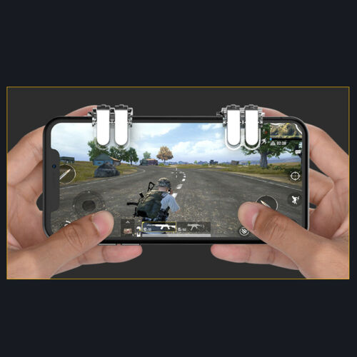 1 pair of Game Triggers Cell Phone Game PUBG Button Fire Mobile Handle Gaming 2