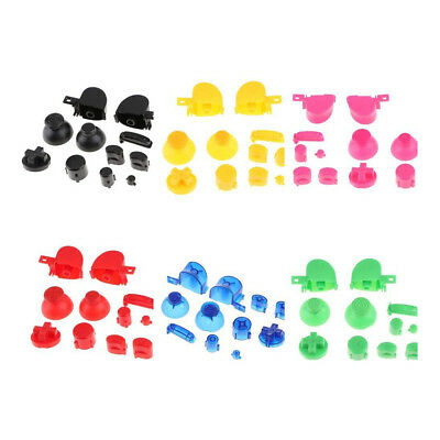 Complete Gamecube Controller Mod button set with Thumbsticks Replacement Parts 4