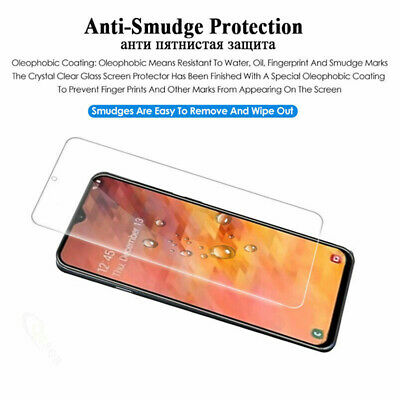 For Samsung Galaxy A70 A50 40 Tempered Glass Protective Screen Protector Film 2X 7
