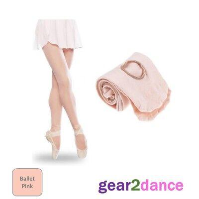 Studio Quality 90 Denier Girls Dance Tights Ballet Tap Modern Convertible NEW UK