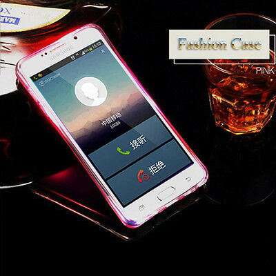Slim Fit Shockproof Hybrid Flash Bumper Soft Case For Samsung Galaxy Phone Cover