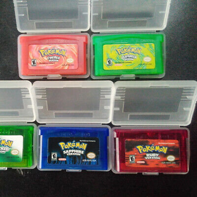 Game Boy Cartridge Games Card Carts For Pokemon NDSL/GBC/GBM/GBA/SP 5 Styles 6