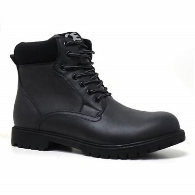Mens Hiking Boots Walking Ankle Combat Military Army Biker Riding Fashion Shoes 2