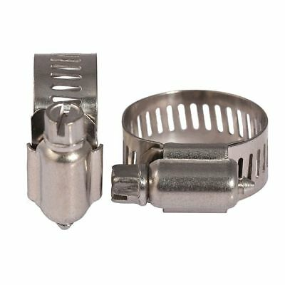 Jubilee Type Hose Clips / Pipe Clamps Worm Gear Drive 304-A2 Stainless Steel 4