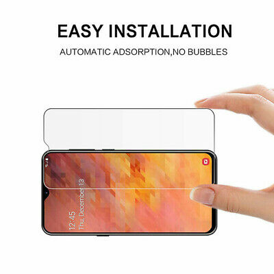 For Samsung Galaxy A70 A50 40 Tempered Glass Protective Screen Protector Film 2X 3