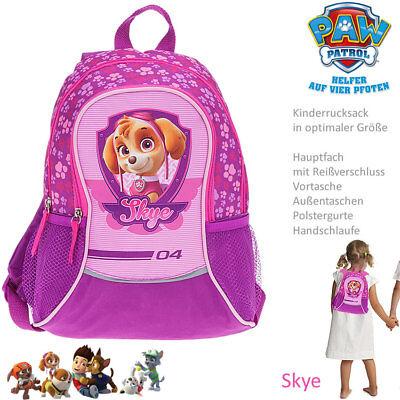 PAW PATROL SAM 3D Rucksack KITA Sport Kindergarten Tasche Mädchen Jungen