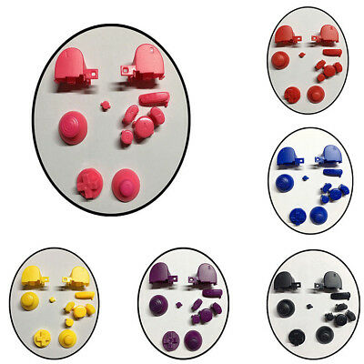 Complete Gamecube Controller Mod button set with Thumbsticks Replacement Parts 5