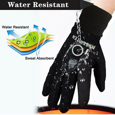Cold Weather Gloves Kids Youth Boys Girls Value In Pair Fleece Thermal Outdoor 4