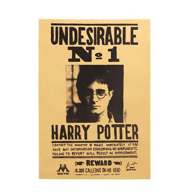 Harry Potter Poster Vintage Film Classique Mural Peinture Tous les Jours Prophet 4