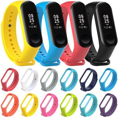 For XIAOMI MI Band 4 /MI Band 3 Silicon Wrist Strap WristBand Bracelet FR RR 5
