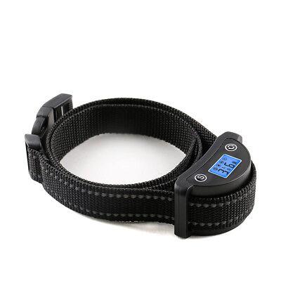 Rechargeble LCD Automatic Anti Bark No Barking Tone Shock Dog Training Collar 2