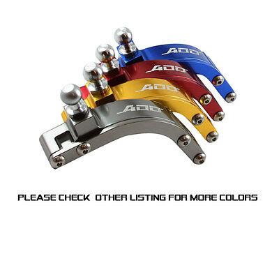 ADD W1 Short Shifter + Base Bushings + Cable Bushings for Honda SI EP3 RED 9