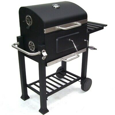 56511 Bbq Barbecue Grill Griglia Carbone Carbonella Ripiano Affumicatore 8