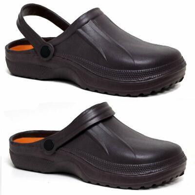 Mens Clogs Mules Slipper Nursing Garden Beach Sandals Hospital Rubber Pool Shoes 3