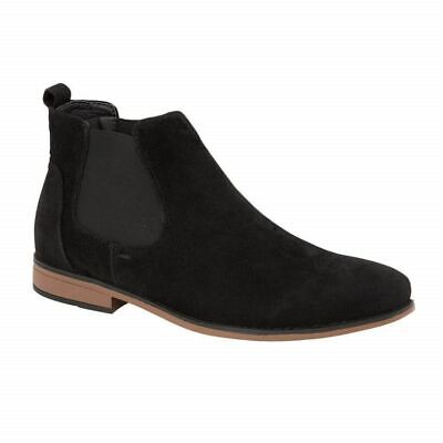 Mens Desert Boots Suede Casual Chelsea Walking Dealer Ankle Smart Fashion Shoes 2