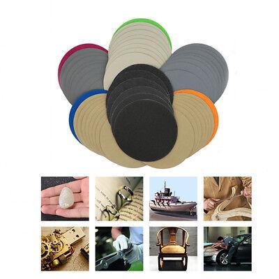 5'' 125mm Hook and Loop Sanding Disc 60 - 10000 Grit Wet or Dry Sandpaper Pads 4