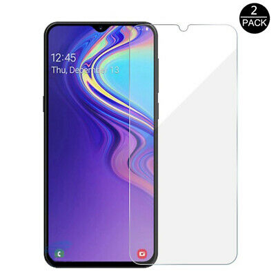 For Samsung Galaxy A70 A50 40 Tempered Glass Protective Screen Protector Film 2X 2
