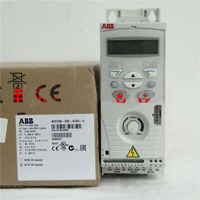 Drives & Starters 1PCS NEW ABB Inverter ACS150-03E-07A3-4 3KW ...