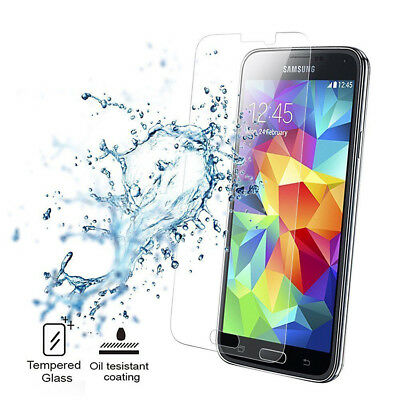 For Samsung Galaxy S9 8 7 6 5 Tempered Glass Screen Protector Film 2X CA 6