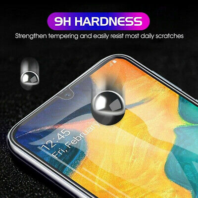 For Samsung Galaxy A70 A50 40 Tempered Glass Protective Screen Protector Film 2X 5