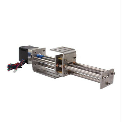 3 Axis Mini CNC Z Axis Slide 150MM DIY Linear Motion Milling Engraving Machine