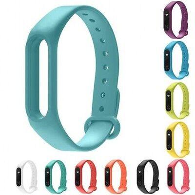 New For Xiaomi Miband 2  Silicone Wrist Strap WristBand Bracelets 5