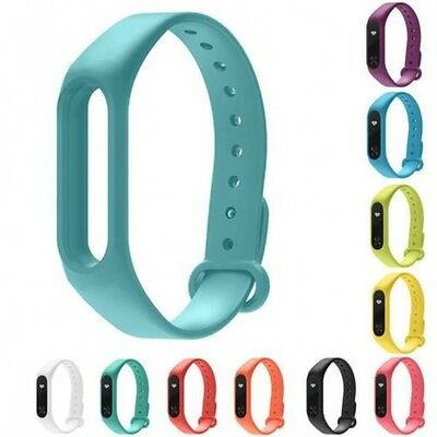 Silicone Wrist Strap Fitness Band with Clasp For Xiaomi Mi Band Miband 2 Tracker 5
