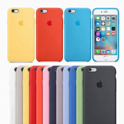 Genuine Original Hard Silicone Case Cover FOR Apple iPhone 6s/7/8 + X/XS Max XR 8