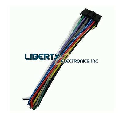 new wire harness for sony cdx-gt50w player 2