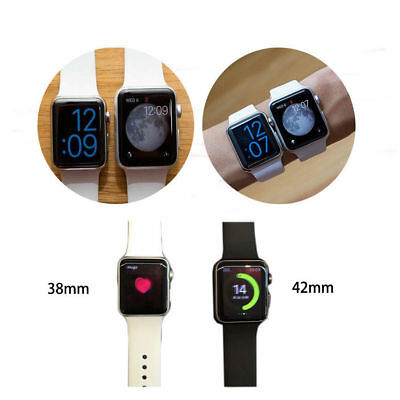 Silicone Sport Band Strap for Apple Watch iWatch Series 4 3 2 1 38/40mm 42/44mm 2