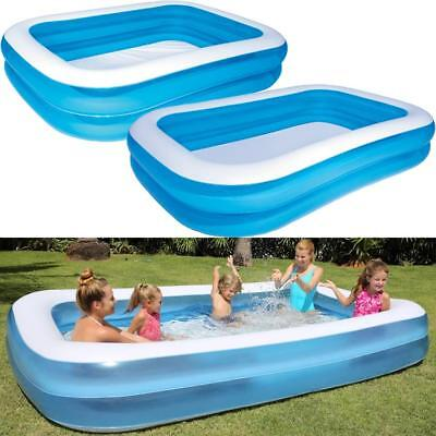 Large Family Swimming Pool Garden Outdoor Summer Inflatable Kids Paddling Pools 2