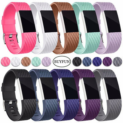Fitbit Charge 2 3 Armband Edelstahl Ersatzband Nylon Milanese Sport Leder Watch 4