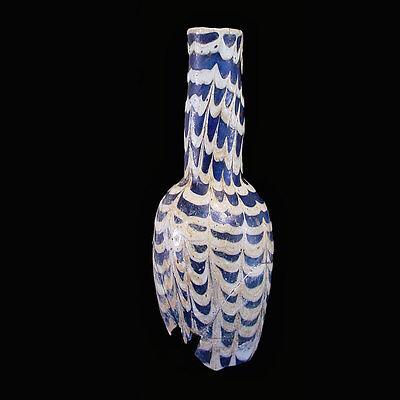 Early Islamic attractive blown glass khol bottle.Circa 6th-7th century A.D x6311 2