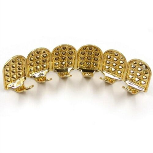 FAKE TEETH GRILLZ Case Grin Smile Hiphop Tooth Top Bottom Mouth Set Party  Gift