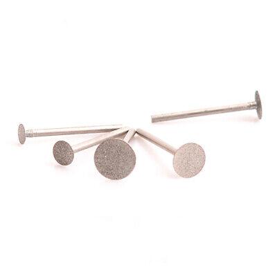 5pcs Diamond Burr Grinding Engraving Bits 1/8'' Shank For Dremel Rotary Tool 3