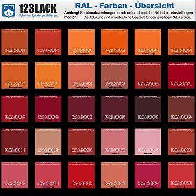 Metallschutzlack Braunrot Ral 3011 Rostschutz Farbe Grundierung 3in1