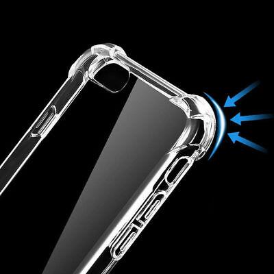 Antichoc Silicone TPU renforcé Coque Pour iPhone XR XS Max 2018 8 7 Plus 6s Plus 7