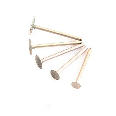 5pcs Diamond Burr Grinding Engraving Bits 1/8'' Shank For Dremel Rotary Tool 4