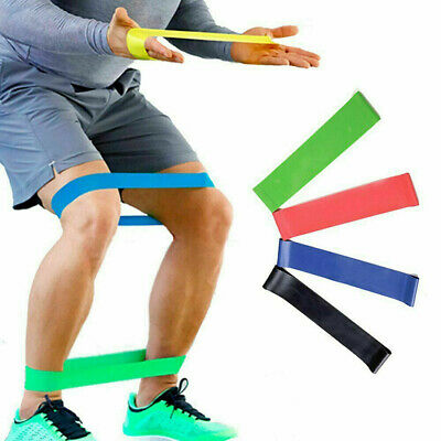 Resistance Elastic Band Exercise Gym Latex Rubber Fitness Training Stretch Belt 2
